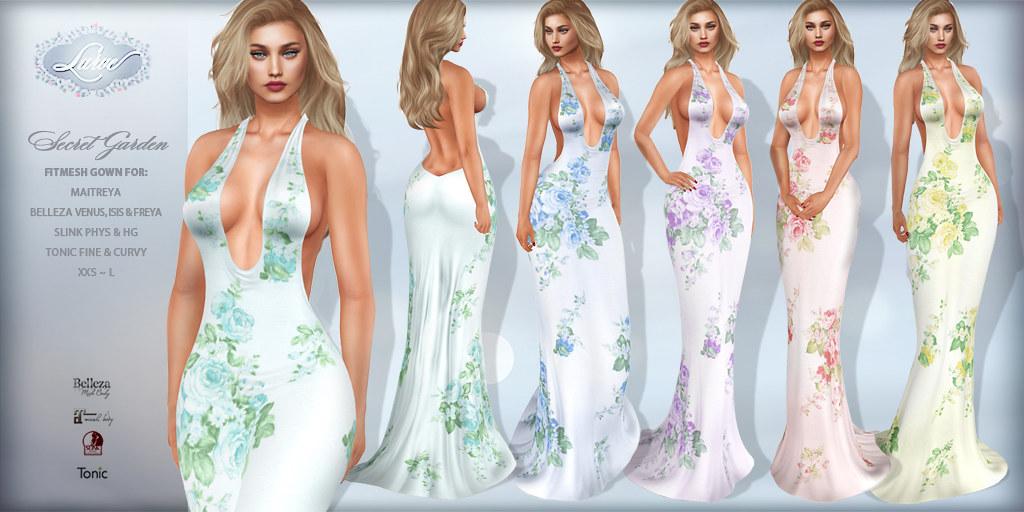 *Lurve* Secret Garden Gown – Phat Pack