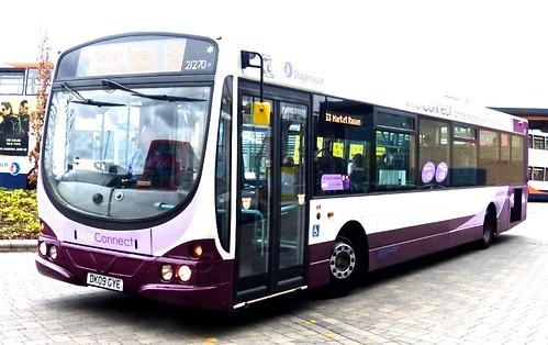 DK09 GYE 'Stagecoach in Lincolnshire' No. 21270 'Interconnect'. B7RLE / Wright Eclipse Urban on Dennis Basford's railsroadsrunways.blogspot.co.uk'