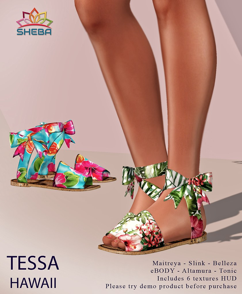 [Sheba] Tessa Hawaii Sandals