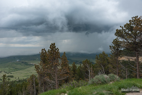 caspermountain casper wyoming june spring forest scenic view overlook north storm stormy thunderstorm weather clouds sky green trees nikond750 tamron2470mmf28