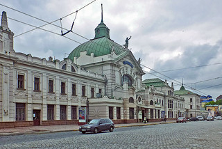 CZERNOWITZ Bahnhof 1a1