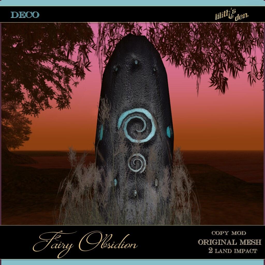 Lilith's Den –  Fairy Obsidion