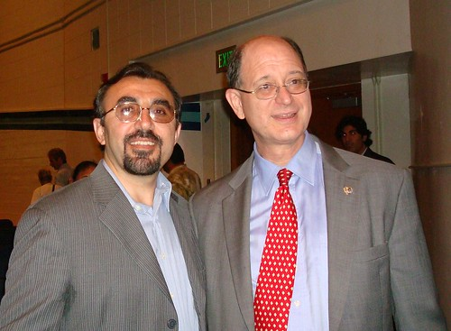 Dr. Moradian and Congressman Brad Sherman | by Kurdish American for Democracy and Human Rights