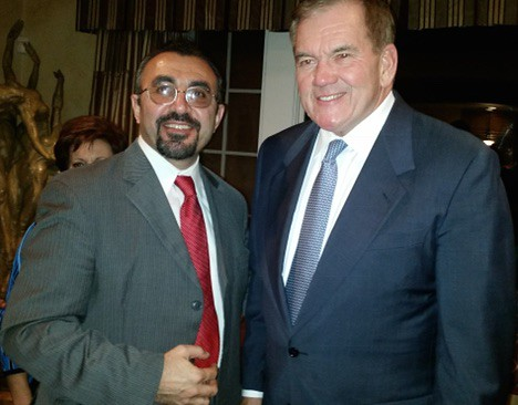Dr Moradian _ Tom Ridge US Secretary of Homeland Security