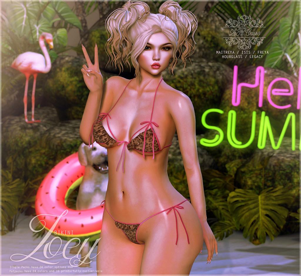 {le fil cassé} Zoey Bikini for Summerfest! - TeleportHub.com Live!