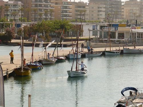 La sortida del port