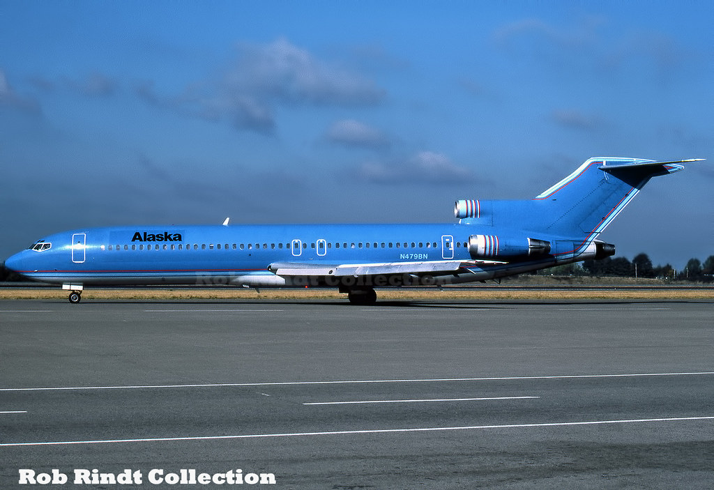 Alaska Airlines B727-227/Advanced N479BN