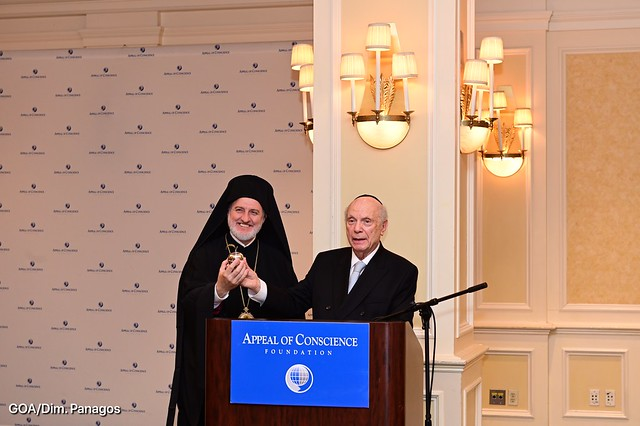Welcome Lunch hosted by Rabbi Arthur Schneier with New York City Religious Leaders
