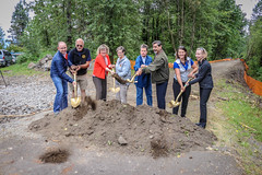 Foothills Trail groundbreaking