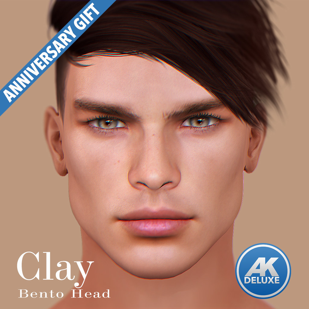 [AK] Clay DELUXE Head GIFT UNTIL 6TH JULY 2019