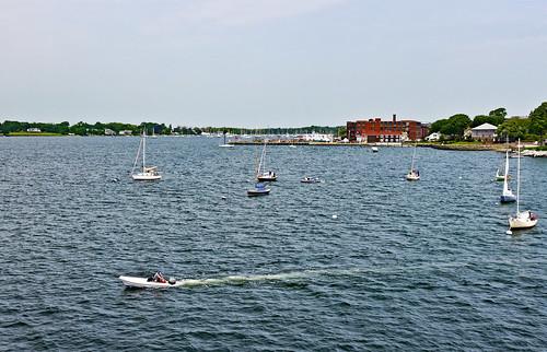 photo bristol rhodeisland bristolharbor harbor boat sailboat