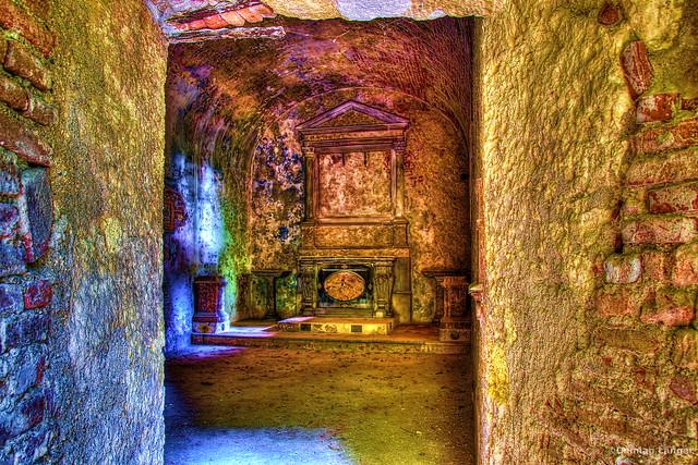 The Giardino Giusti hidden chapel