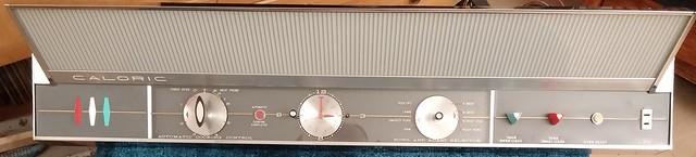 Control panel assembled.