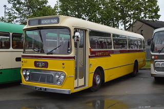 Preserved former RTITB, Wembley, London, 84, (TMS585H) UPT517 Leyland Leopard PSU3/1R - Alexander Y