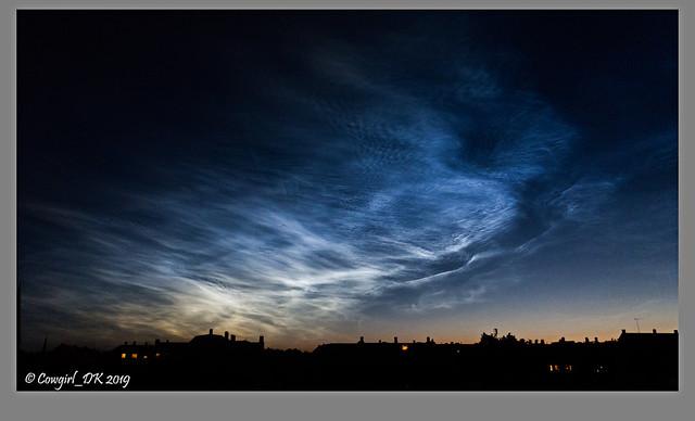 The Glowing Night Sky