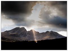 Storm & Sunshine over Bla Bheinn