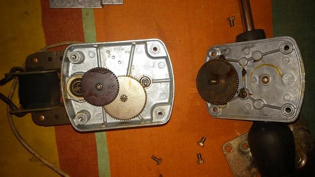 Rotisserie motor.