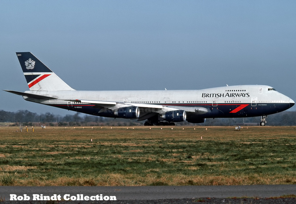 British Airways B747-236B G-BDXC