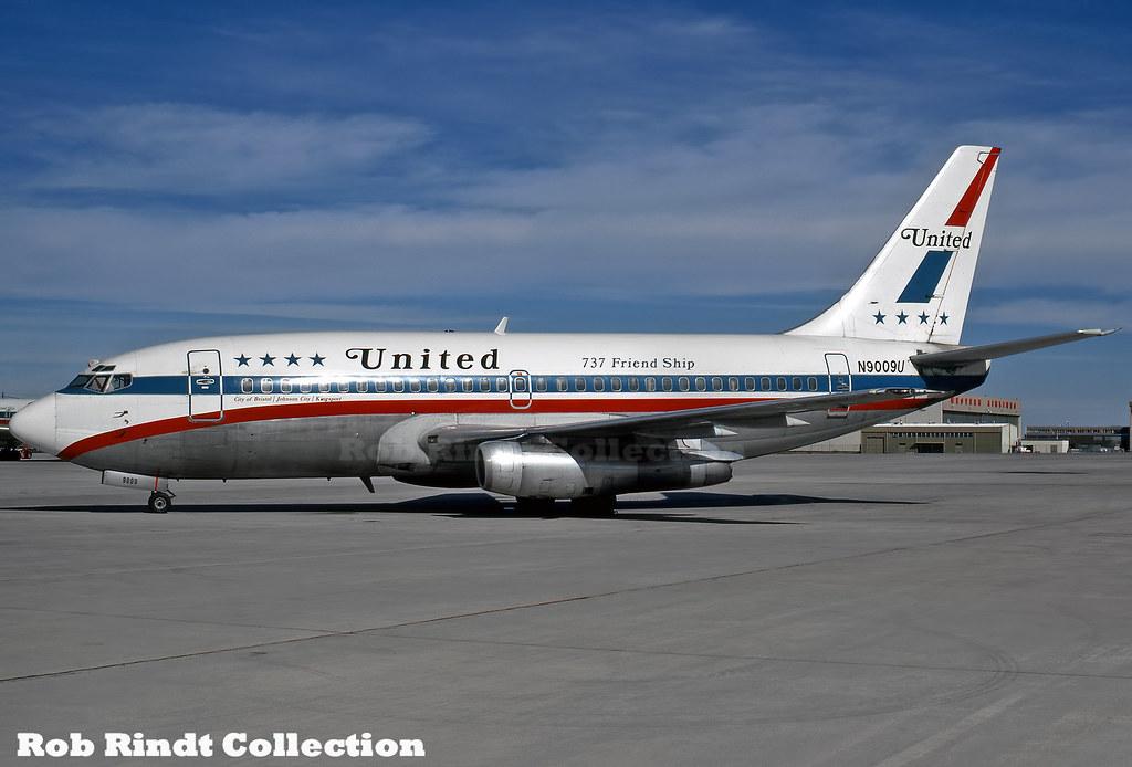 United Airlines B737-222 N9009U