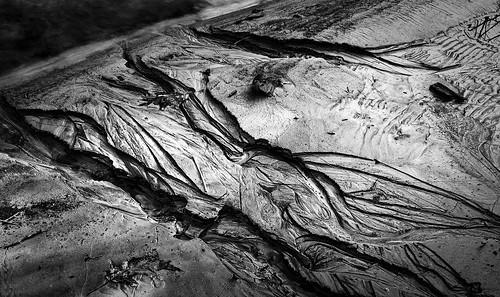 sonyalpha sonya7rm2 ilce7rm2 mirrorless monochrome blackandwhite bw silt erosion water soil mud shadows