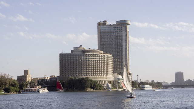 A Nile boat in Egypt's Nile river