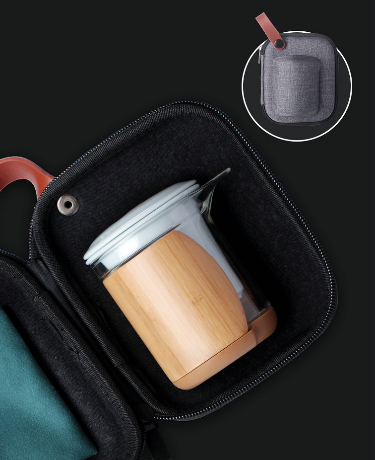 Portable Gongfu Tea Sets for Travelling 2 Colors