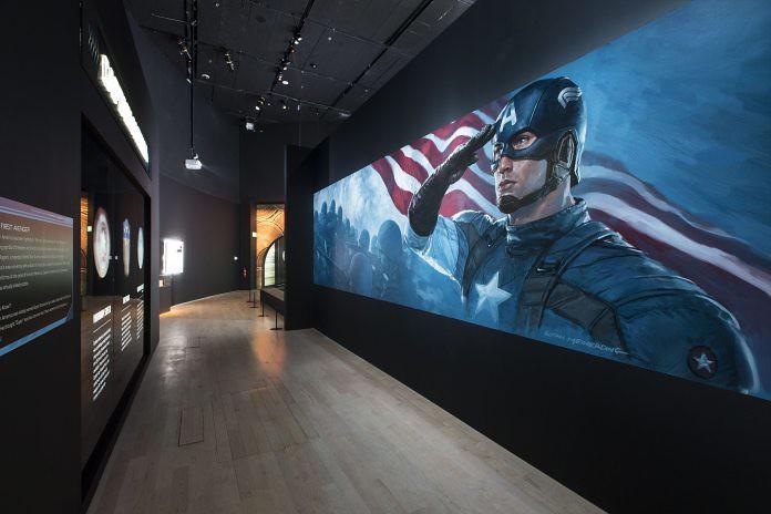 Marvel Studios: Ten Years Of Heroes Exhibition