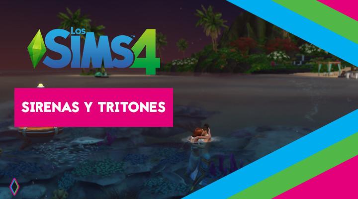 Los Sims 4: Sirenas y tritones