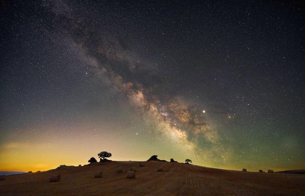 Milky way in Villar de la Yegua.