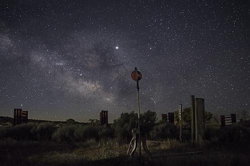 newmexico santafe railyard nightphotography milkyway stars starphotography