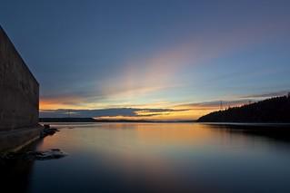 Dominion Beach sunset
