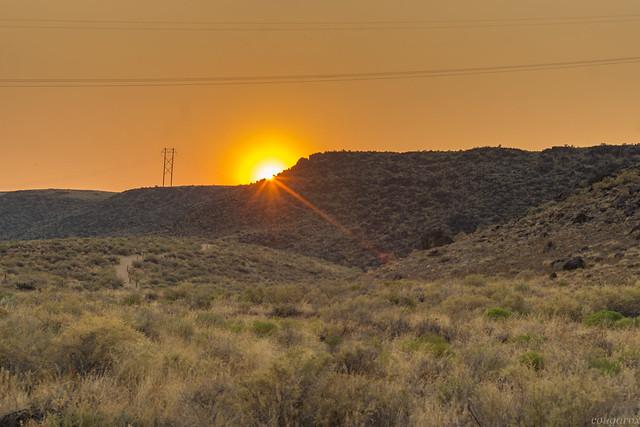 Sunset on Rinconada Trail