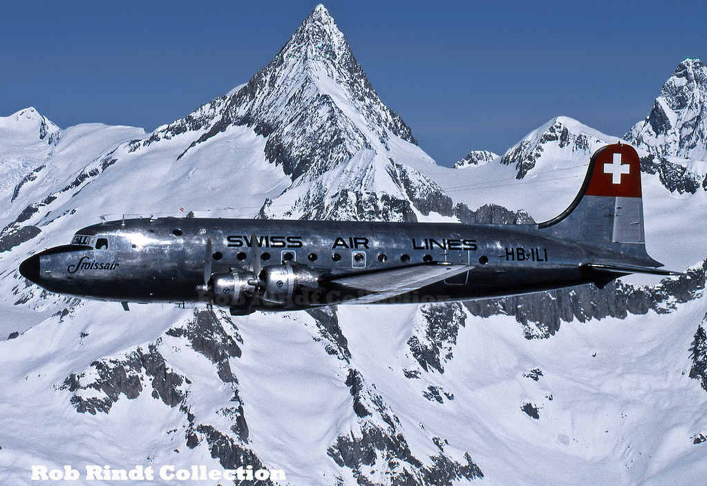 Swissair DC-4 HB-ILI