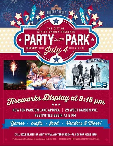 Party in the Park in Winter Garden