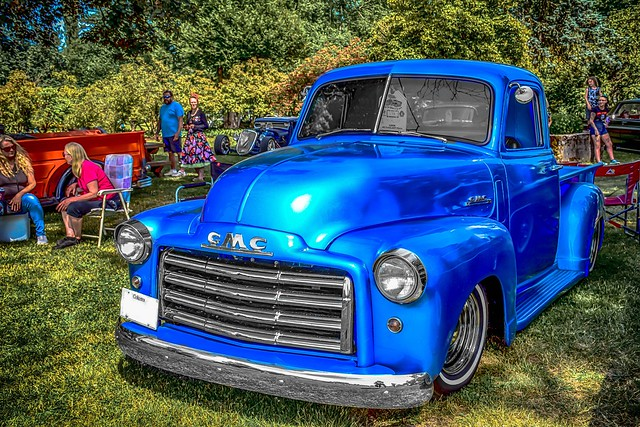 Nifty 50's  Customized, Classic GMC Pickup