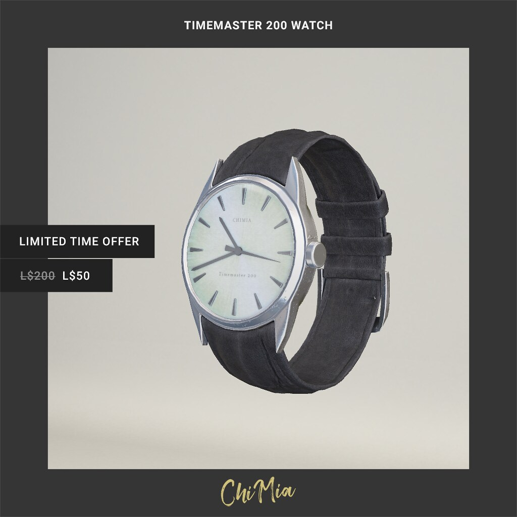 Timemaster 200 Watch for The Saturday Sale 22 June 2019