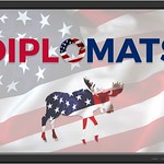 Political Party I created and named The Diplomats. The moose is the mascot.