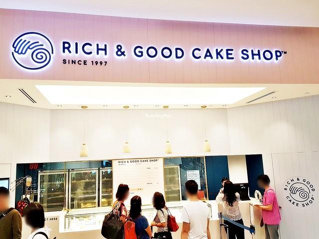 Rich & Good Cake Shop Facade