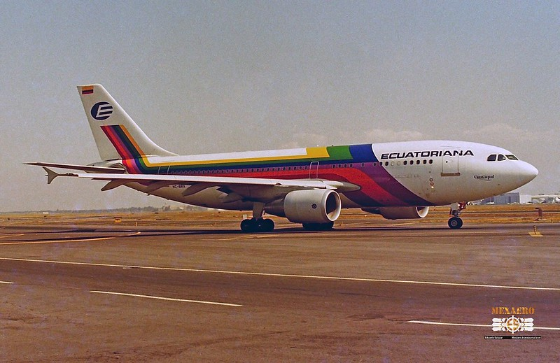 Ecuatoriana / Airbus A310-324 / HC-BRA