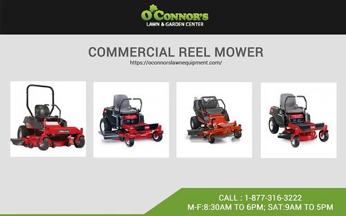 commercial reel mower