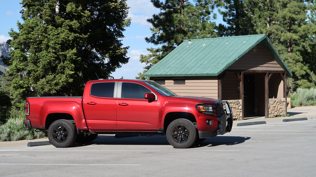 GMC Canyon at Mount Charleston