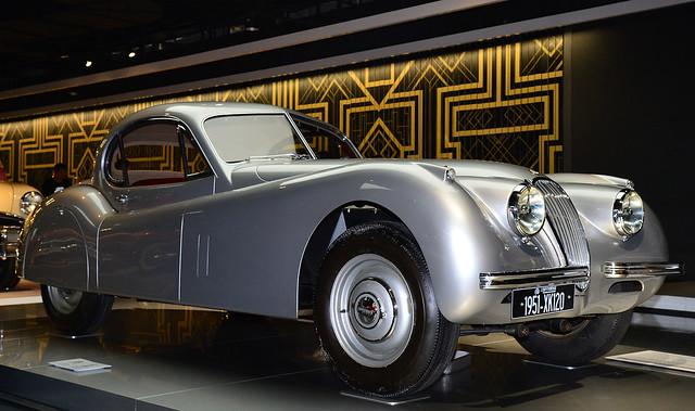 Anting - 1951 Jaguar XK 120 FHC