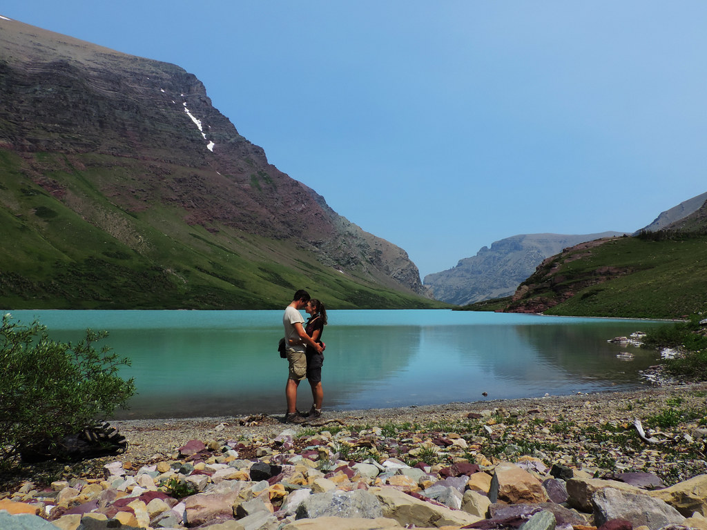 Cracker Lake, Glacier National Park, Montana, USA