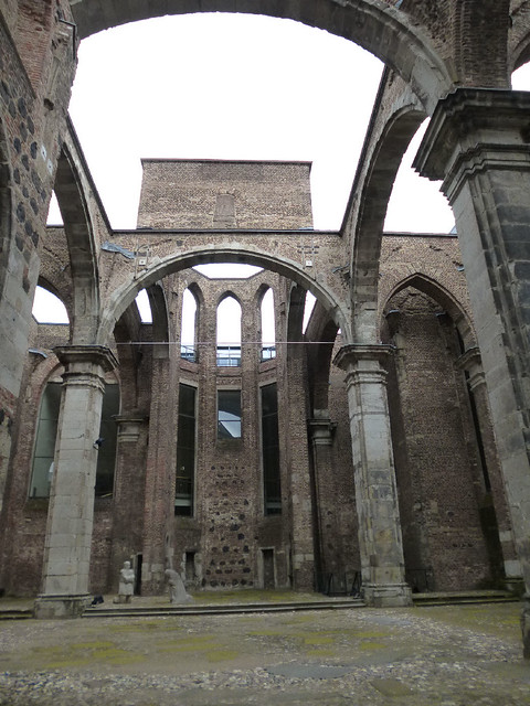 St. Albans ruins interior