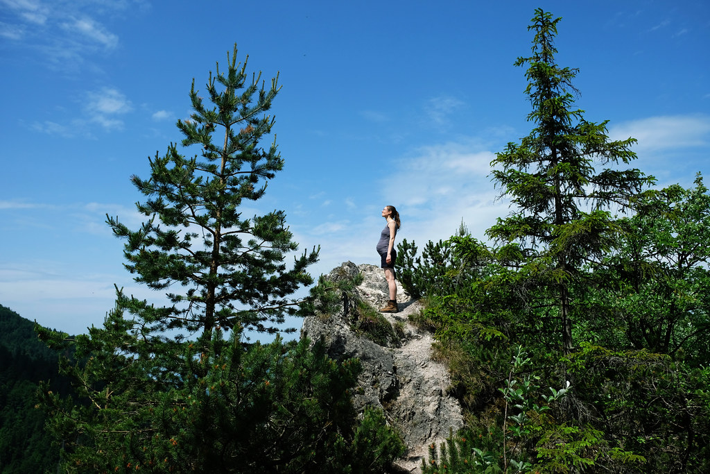 Hiking While Pregnant: Little Fatra, Slovakia