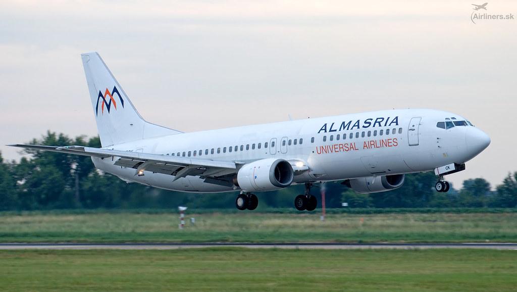 SU-TCK AlMasria Universal Airlines Boeing 737-446