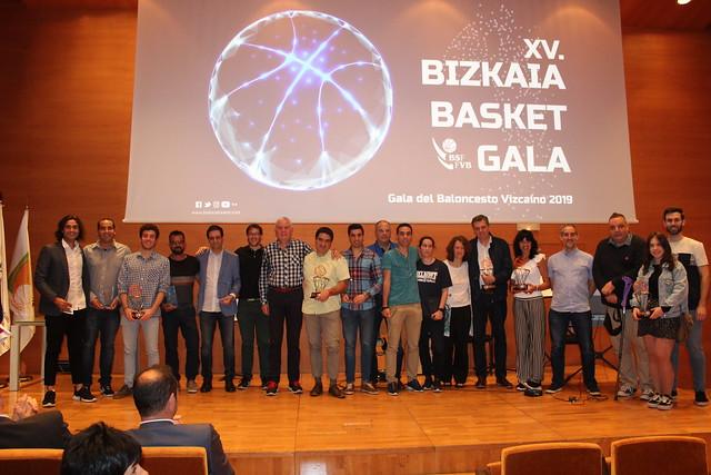 21/06/2019 XV Gala del Baloncesto Bizkaino