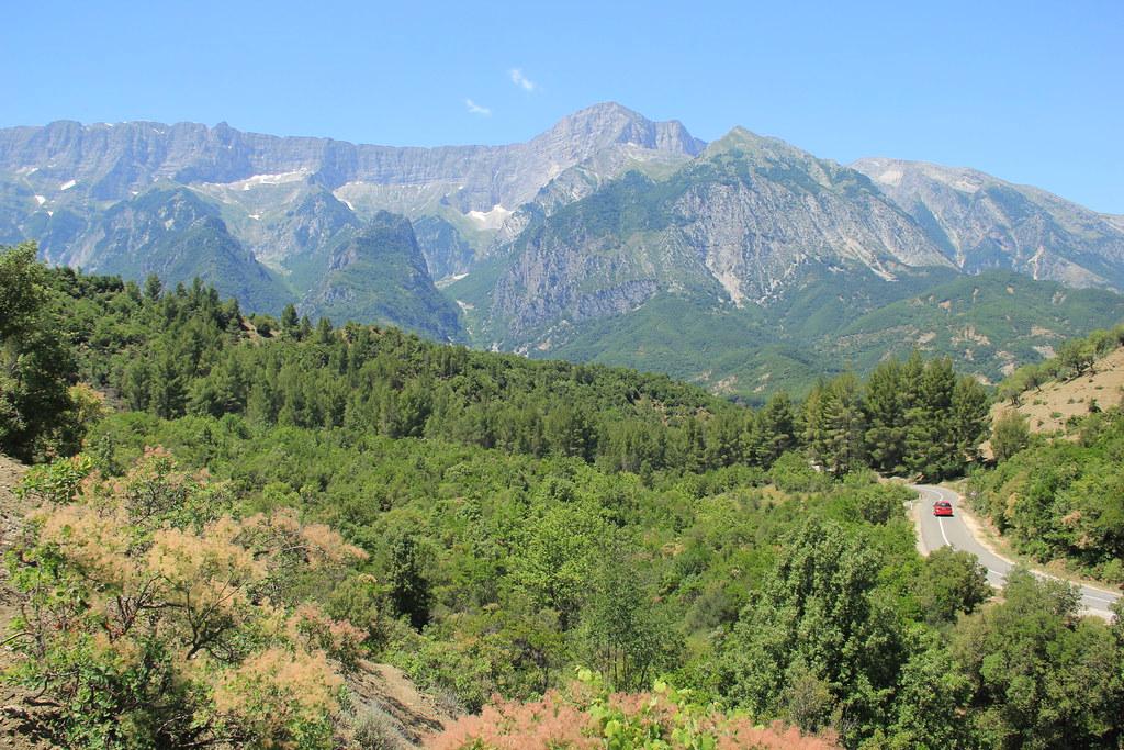Admiring the beautiful Albanian landscapes didn't cost us a single lek!