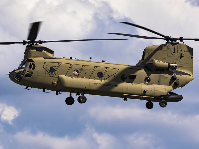 United States Army | Boeing CH-47F Chinook | 15-08467