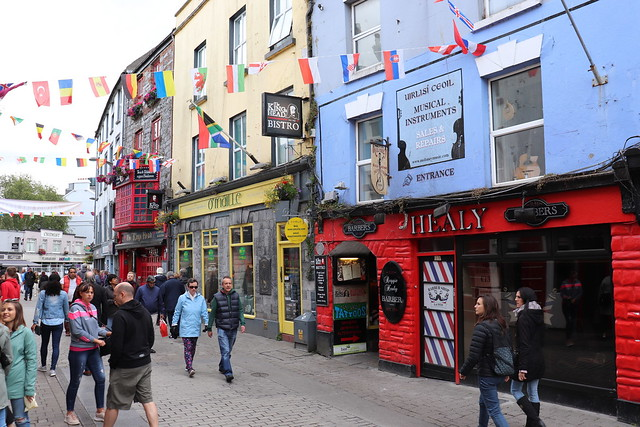Calle principal de Galway